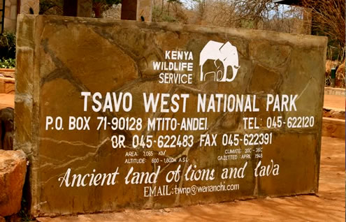 3 Days Mombasa Safari Package to Tsavo East and Tsavo West